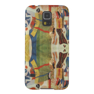 Abstract Vintage Romanian embroideryr Case For Galaxy S5