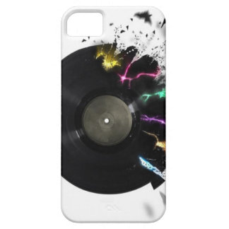 Abstract Vinyl Record iPhone 5 Cover