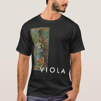 Abstract Viola Artwork T-Shirt