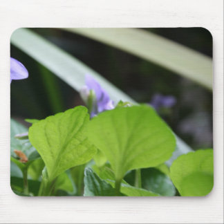 Abstract Violet Mouse Pad
