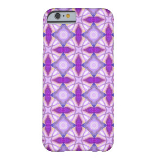 Abstract Violet Pattern Barely There iPhone 6 Case