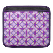 Abstract Violet Pattern Sleeve For iPads