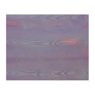 Abstract violet wood textured Wood canvas