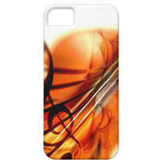 Abstract Violin Art iPhone 5 Cases