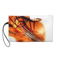 Abstract Violin Art Wristlets