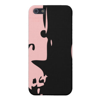Abstract Violin iPhone Case Pink iPhone 5 Covers
