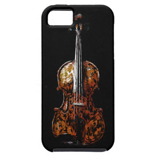 Abstract Violin or Viola Electronic Device Case