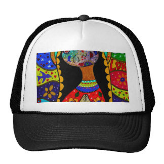 ABSTRACT VIRGIN GUADALUPE TRUCKER HAT