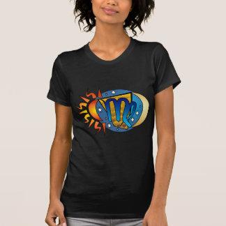 Abstract Virgo Tee Shirts