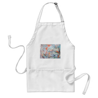 Abstract Volcano Eruptions from Space Adult Apron