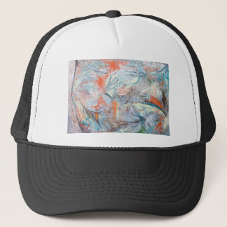 Abstract Volcano Eruptions from Space Trucker Hat