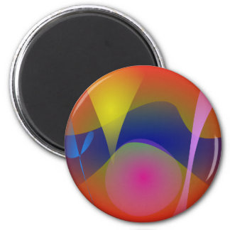 Abstract Volcano Magnet