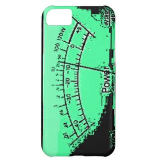 Abstract VU meter iPhone 5C Cases