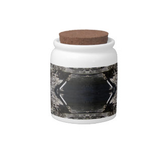 Abstract W&B Candy Jars
