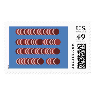 Abstract Wafer Stamps