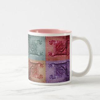 abstract wall art mugs