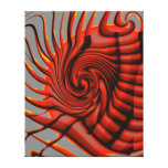 Abstract Wall Art Stretched Canvas Print