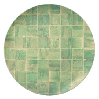 Abstract wall melamine plate