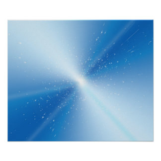 Abstract warp speed. poster