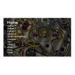 Abstract Watch gears Double-Sided Standard Business Cards (Pack Of 100)