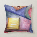 Abstract Water Color Pillow