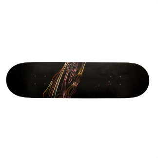 Abstract Water Drawing Skateboard Deck