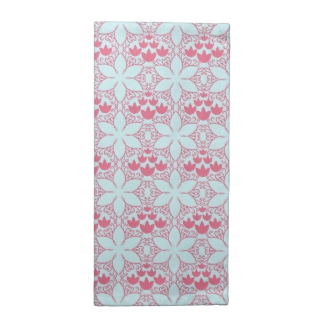 Abstract Water Lilies Cloth Napkins (set of 4)