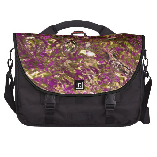 Abstract Water Photograph Laptop Bags