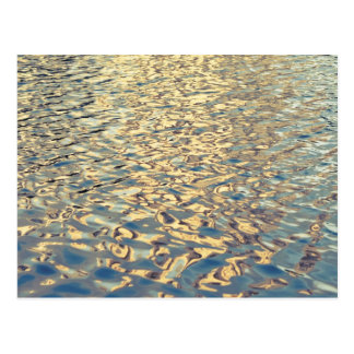 Abstract Water Photograph Postcard