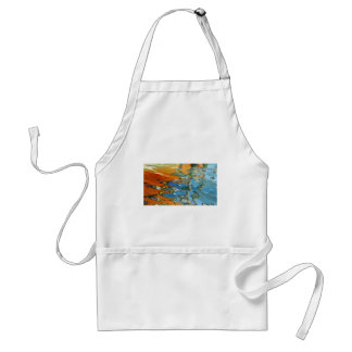 Abstract water reflections in Venice Adult Apron