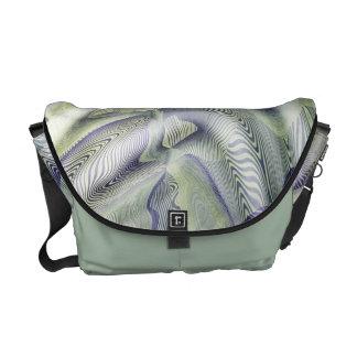 Abstract Water Ripples Messenger Bag