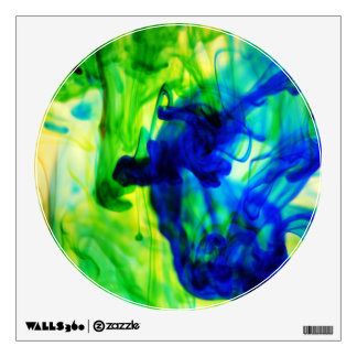 Abstract Water Swirl Designs Room Decal