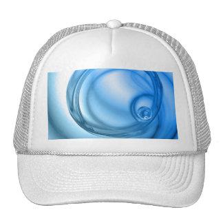 Abstract Water Swirl Textured Trucker Hat