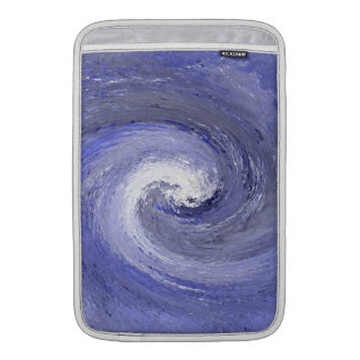Abstract Water whirl whirlpool – Blue Sleeves For MacBook Air
