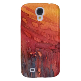 Abstract watercolor 3 galaxy s4 cover