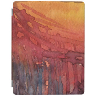 Abstract watercolor 3 iPad smart cover