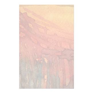 Abstract watercolor 3 stationery