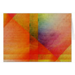 Abstract Watercolor Art Rainbow Greeting Cards