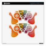 Abstract Watercolor Art Rainbow PS3 Controller Decal