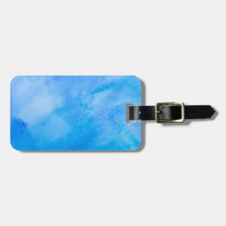 Abstract Watercolor Background Bag Tag