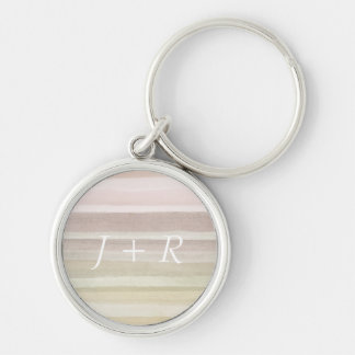Abstract watercolor background keychain
