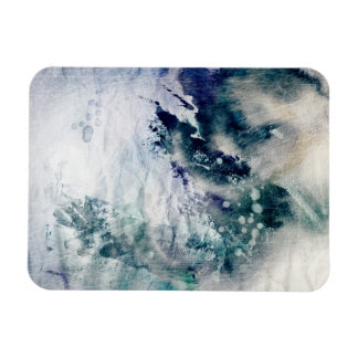 Abstract watercolor background on grunge paper 2 magnet