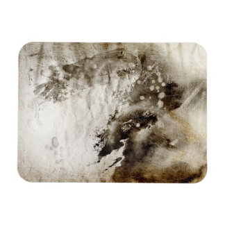 Abstract watercolor background on grunge paper magnet
