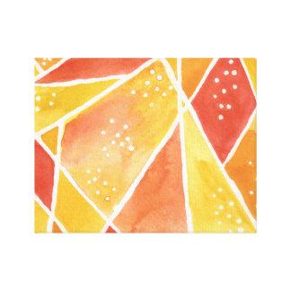 Abstract watercolor canvas artwork canvas print