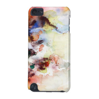 Abstract watercolor grunge texture with paint iPod touch 5G cover