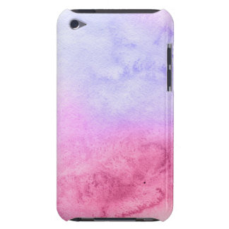Abstract watercolor hand painted background 11 Case-Mate iPod touch case