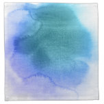 Abstract watercolor hand painted background 12 printed napkins