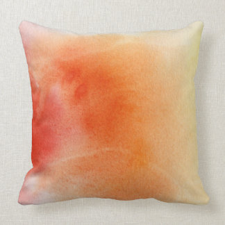 Abstract watercolor hand painted background 15 pillow