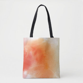 Abstract watercolor hand painted background 15 tote bag