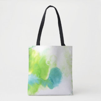 Abstract watercolor hand painted background 16 tote bag